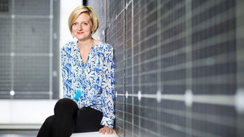 """Director Marianne Elliott of """"The Curious Incident of the Dog in the Night-Time"""" Photo by Helen May"""
