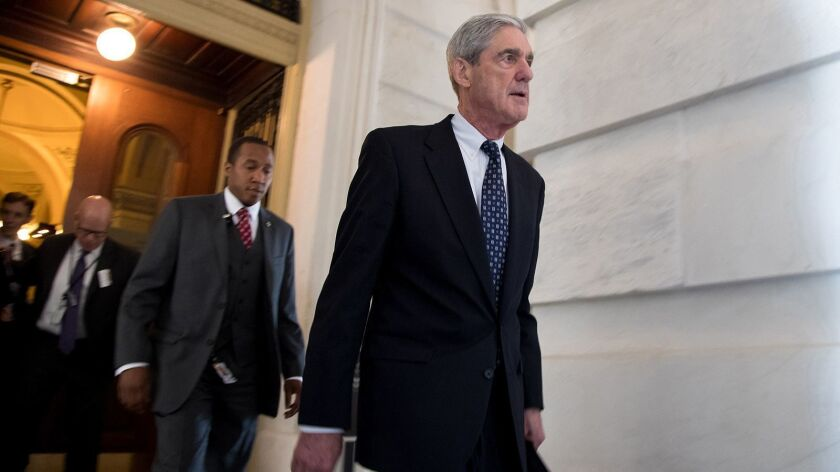 Mueller protection bill reintroduced in the Senate, but still no prospects for floor time