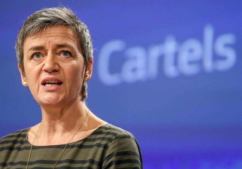 EU Commissioner for Competition, Danish Margrethe Vestager. EFE/EPA/FILE