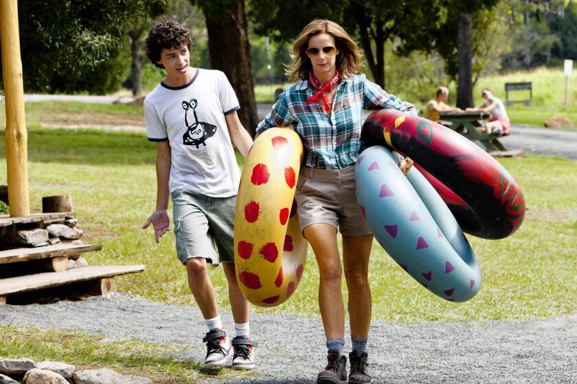"""Charles Grounds and Rachel Griffiths in NBC's """"Camp."""""""