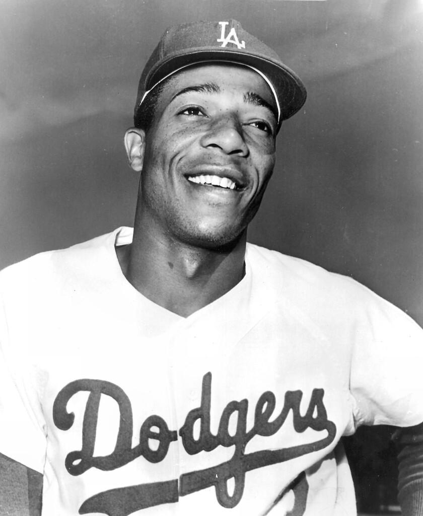 Handout photo of Willie Davis. Photo released for obit of Willie Davis. Photo from Los Angeles Dodge