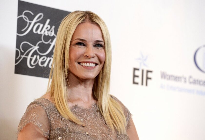 """Chelsea Handler will leave her E! show """"Chelsea Lately"""" in August."""