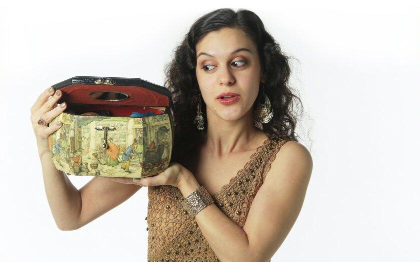 Storyteller Jessica Baris