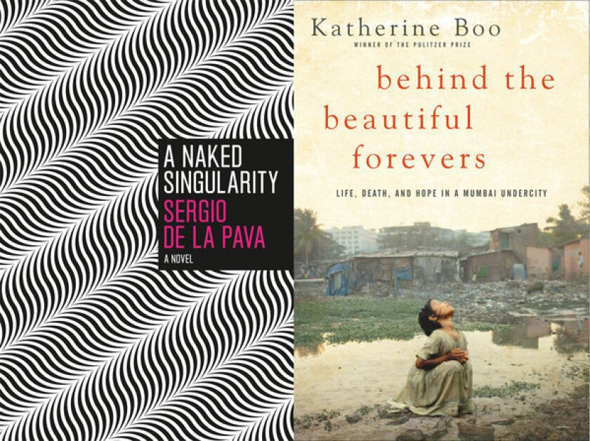 """Sergio de la Pava, author of """"A Naked Singularity,"""" and Katherine Boo, author of """"Behind the Beautiful Forevers,"""" are two winners of the 2013 PEN Awards."""