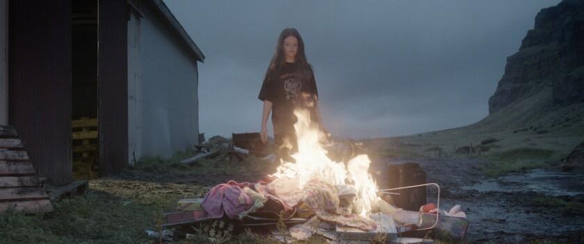 Scene from 'Metalhead'