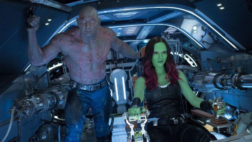 Drax y Gamora