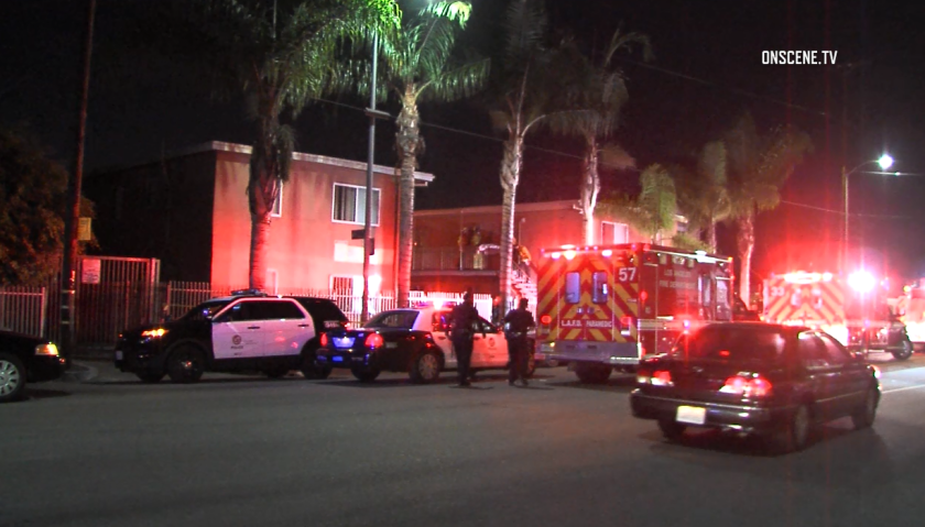 Double-shooting in South L.A.