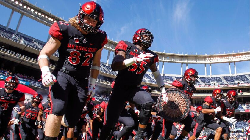 In 2018, San Diego State must replace Rashaad Penny, the nation's leading running, and improve at wide receiver and in the secondary, among other areas. Of course, there are eight months before the season opener at Stanford to sort out those things.