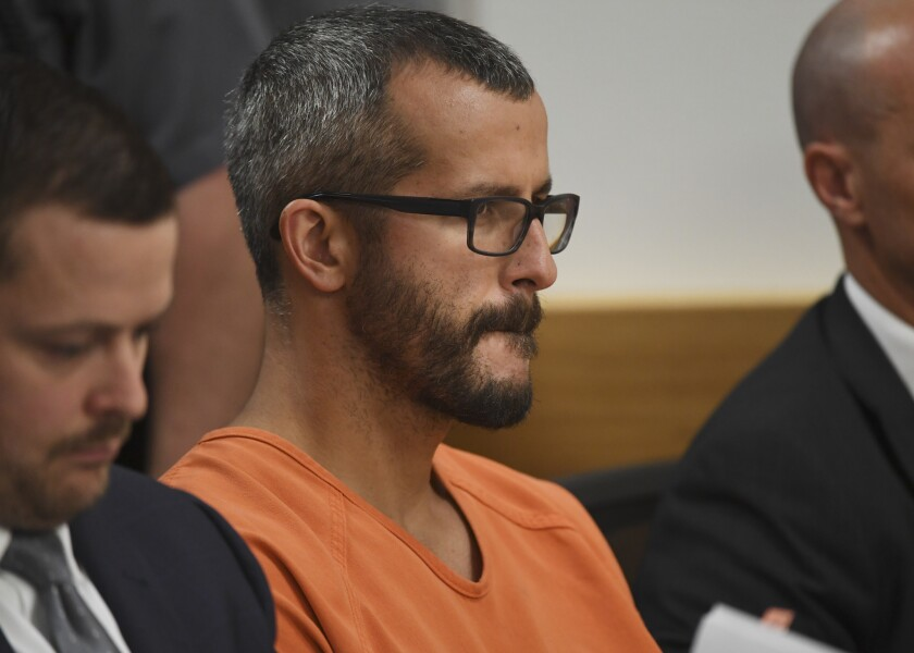 Chris Watts pleaded guilty to all nine charges against him Tuesday.