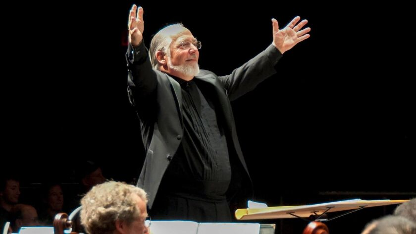 David Chase conducting the La Jolla Symphony & Chorus.