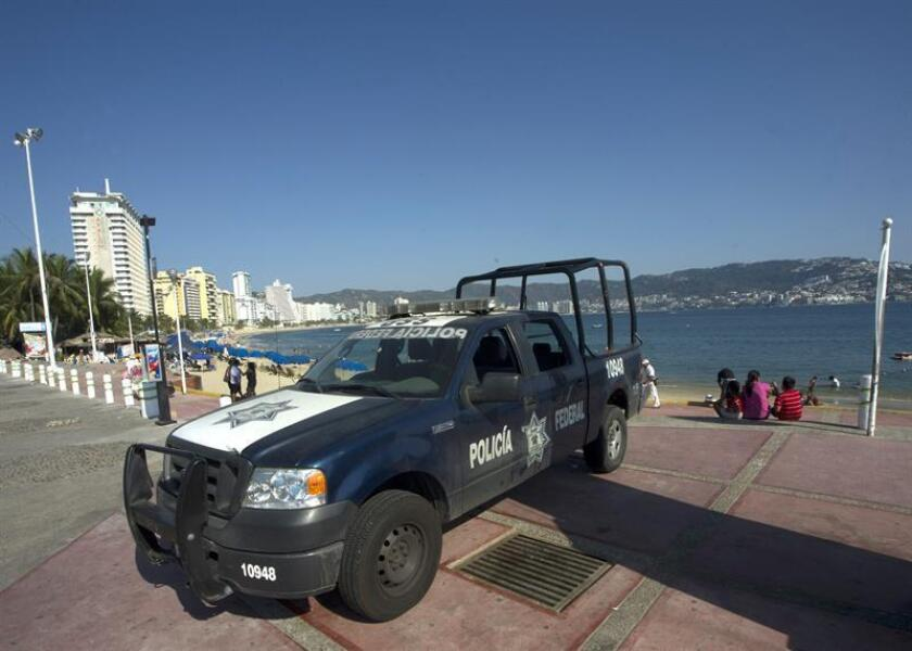 Seis personas han sido asesinadas en las últimas 24 horas en el balneario mexicano de Acapulco en distintos hechos delictivos, informaron hoy a Efe fuentes del Gobierno estatal. EFE/Archivo