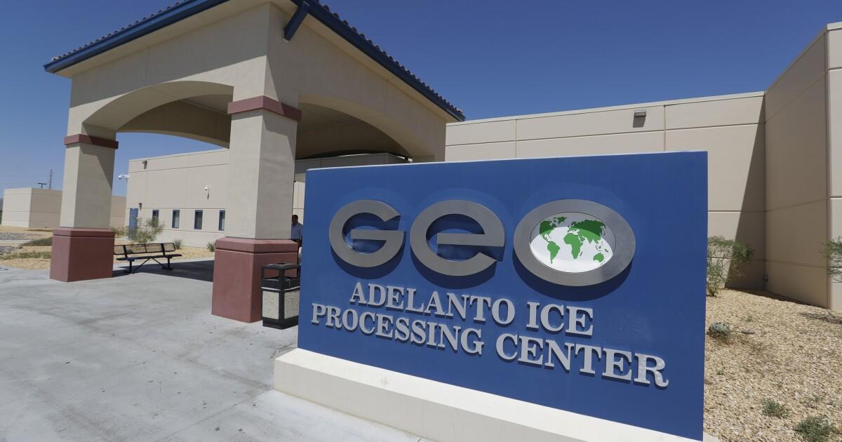 Gefängnis Unternehmen verklagt in Kalifornien über das Gesetz zum Verbot privater immigration detention Center