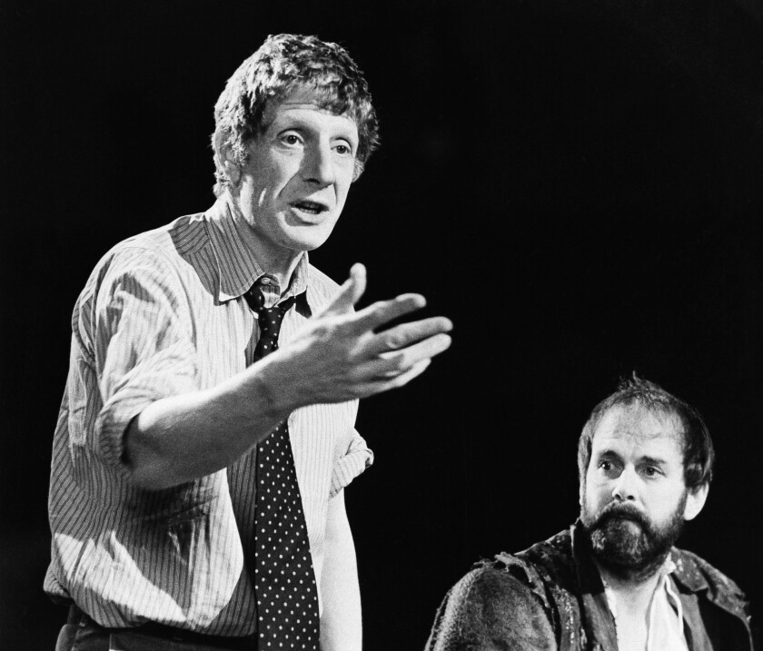 "Jonathan Miller directs ""Taming of the Shrew"" with actor John Cleese"