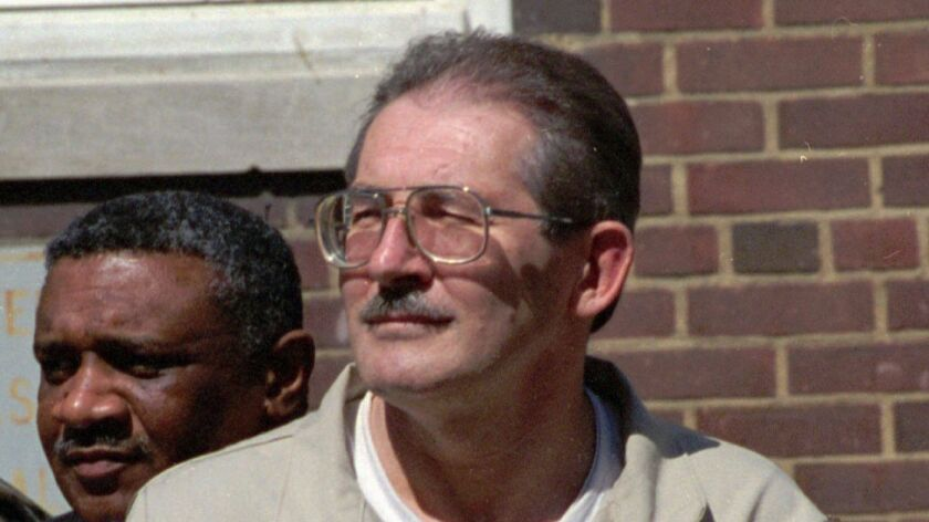 Former CIA agent Aldrich Ames, shown in 1994, is serving a life sentence for spying for Moscow.