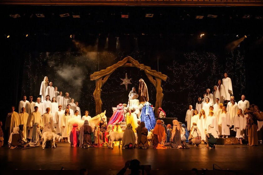 'Traditions of Christmas' features special appearances by Santa and Mrs. Claus, a tapping kickline, dancing toy soliders, swing dancing, classic Christmas songs, a living nativity and more.