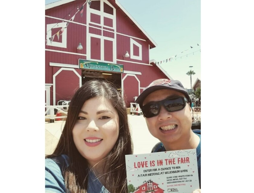 Leslie Leong and Michael Nguyen will marry Saturday in the Millennium Barn at the OC Fair & Event Center in Costa Mesa.