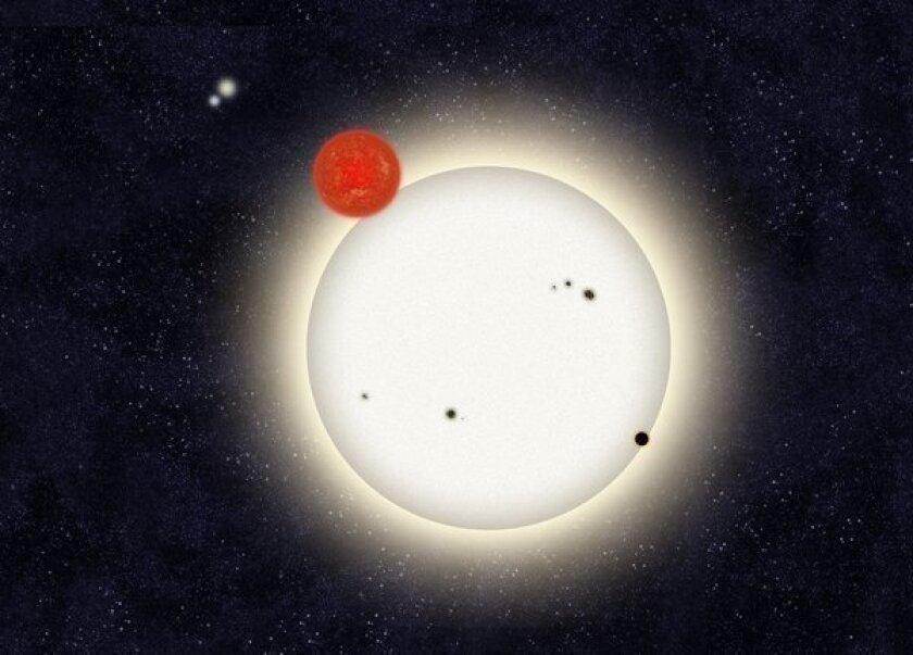 'Citizen scientists' spot planet with four suns
