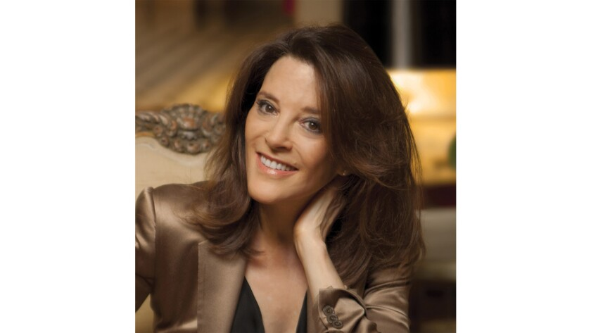 """Marianne Williamson will participate in """"Mindful America: Creating a Mindful Policy For a Healthy, Prosperous America"""" at Wanderlust Hollywood."""