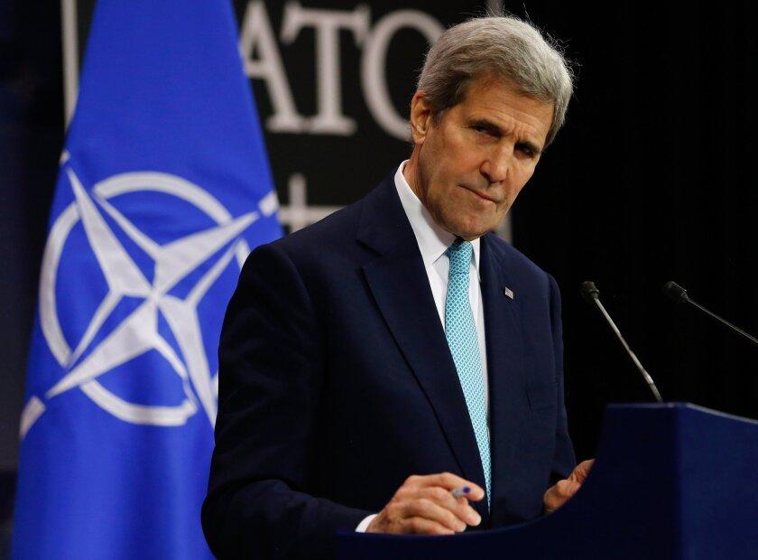 John Kerry NATO meetings