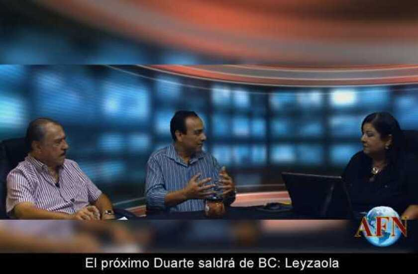 El próximo Duarte saldrá de BC: Leyzaola