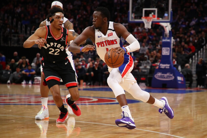 Former Detroit Pistons guard Reggie Jackson signed with the Clippers on Thursday.