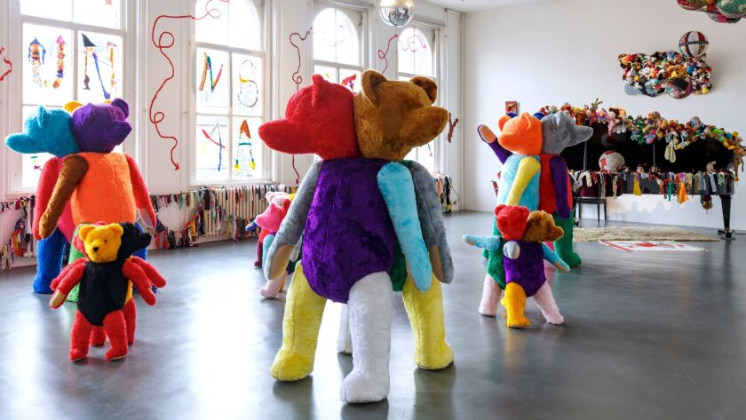 """Charlemagne Palestine's """"GesammttkkunnsttMeshuggahhLaandtttt"""" at Witte de With in Rotterdam, the Netherlands, last year. The artist will get a retrospective with help from a Mike Kelley Foundation for the Arts grant."""