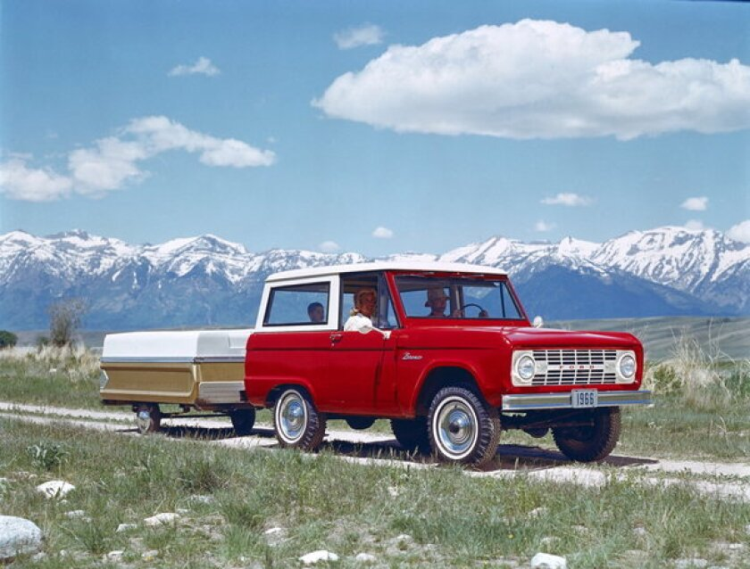The value of the Ford Bronco, built from 1966-77, is up 61 percent from 2008, to an average of $25,250.
