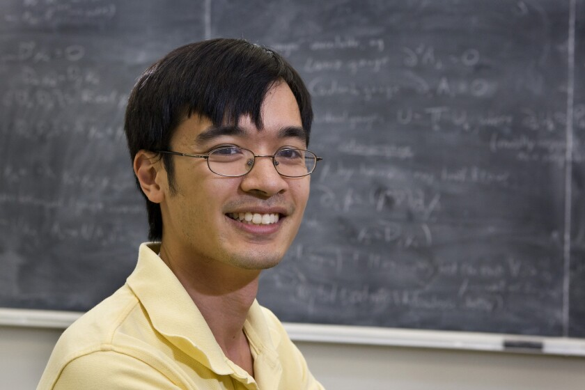 UCLA math professor Terence Tao wins another big prize.