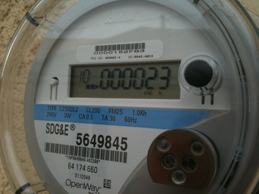 SDG&E's electric meters