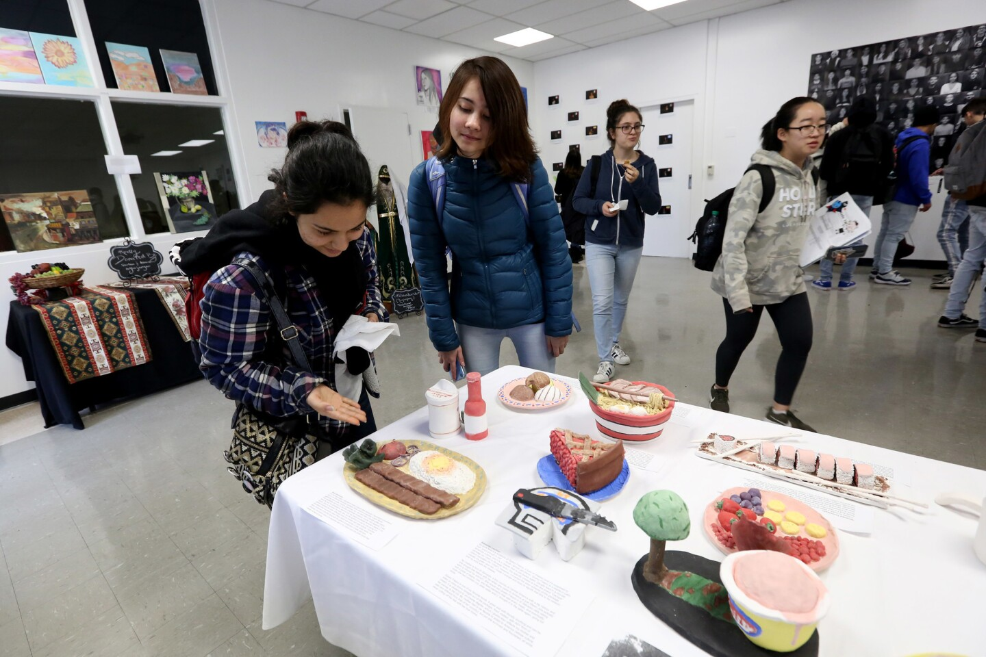 Photo Gallery: Hoover High holds inaugural art exhibit at school gallery