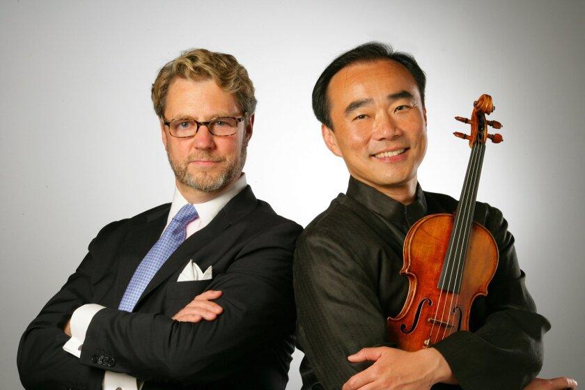 Christopher Beach and Cho-Liang Lin
