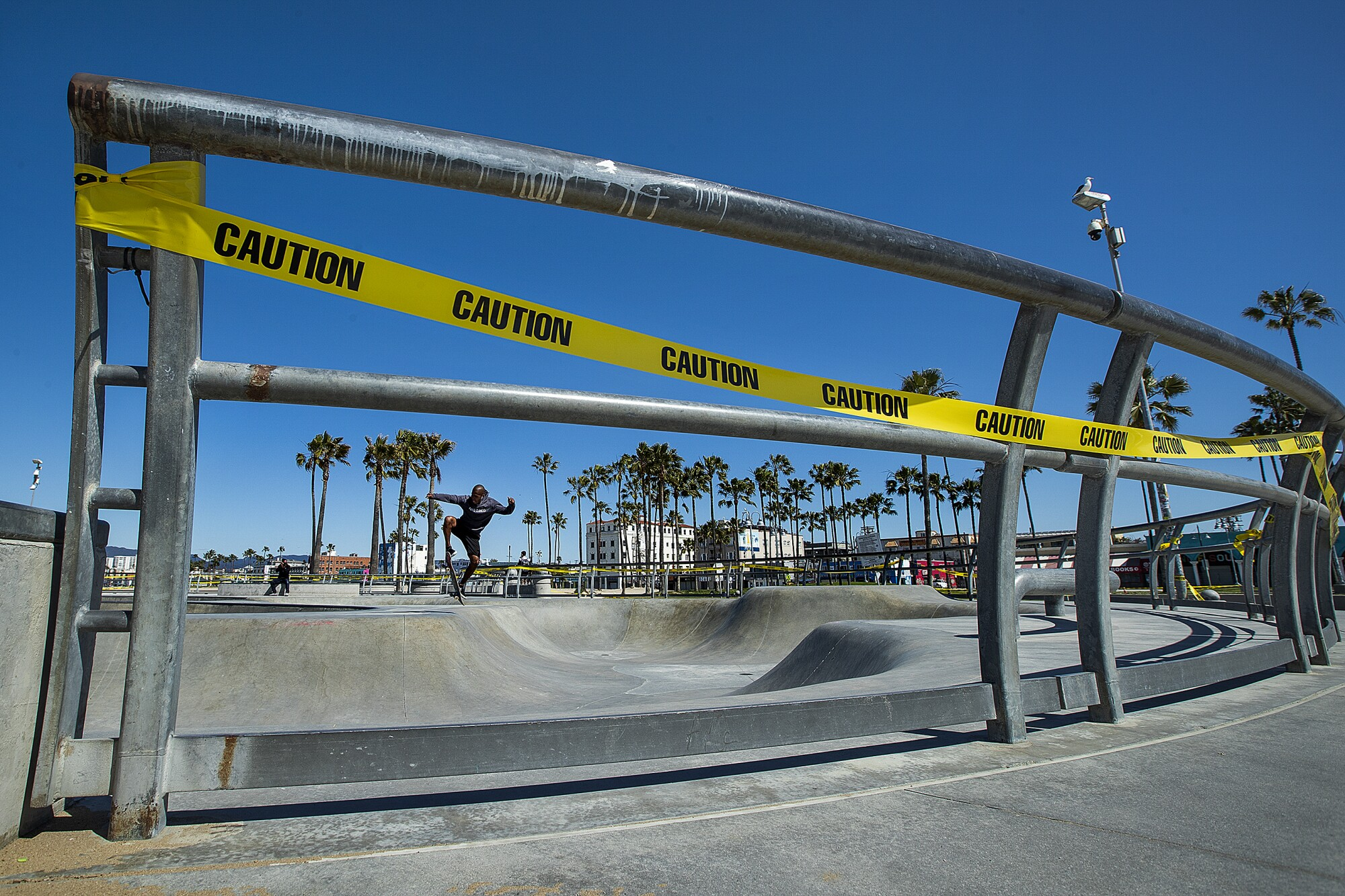 Skatepark at Venice Beach
