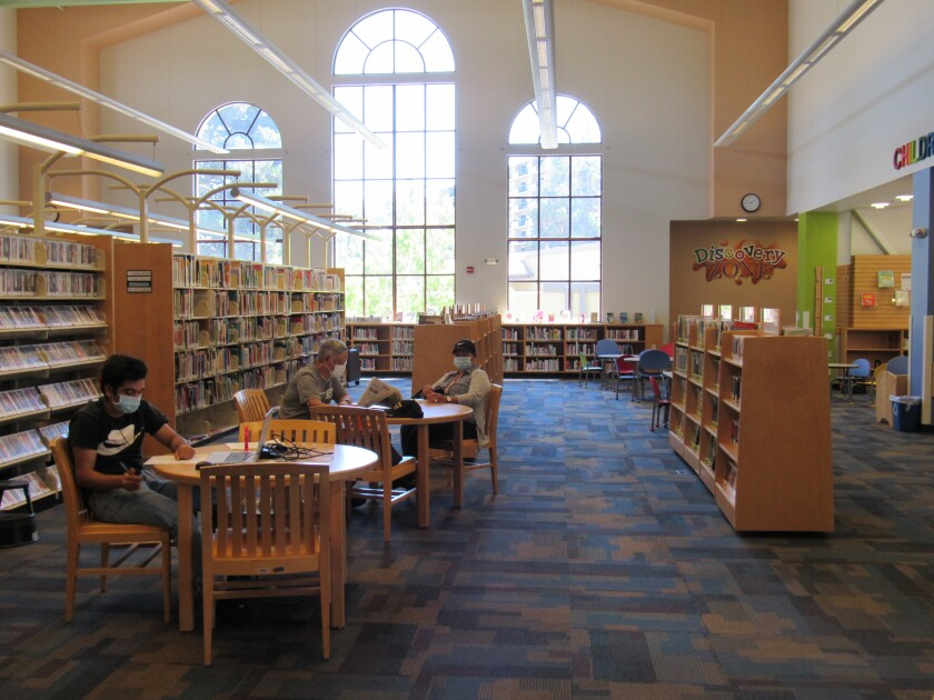 La Mesa will have a new task force that will look into the possibility of expanding the city's library.