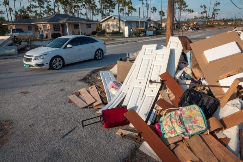 Freeport residents working hard to avoid despair, pull selves up after Dorian