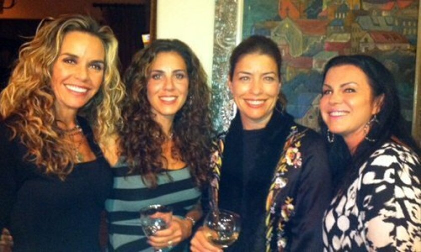 Diana Kupiec, Robin Gaines, Holly Bauer and Allison Borts