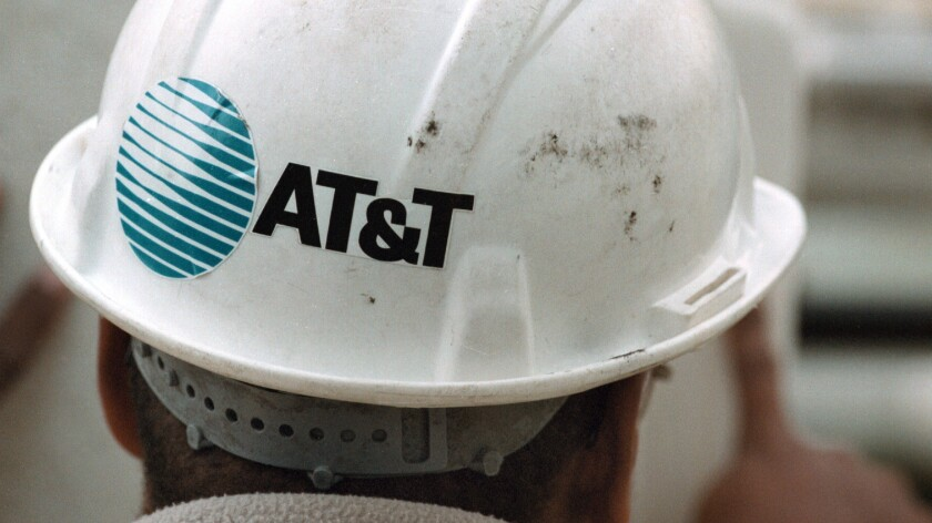 An AT&T technician in Illinois in 2000