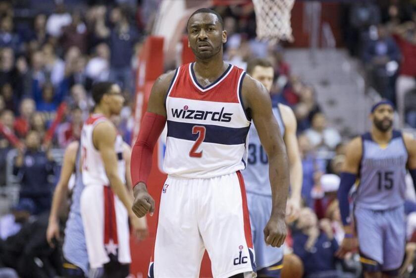 El jugador de Washington Wizards John Wall. EFE/Archivo