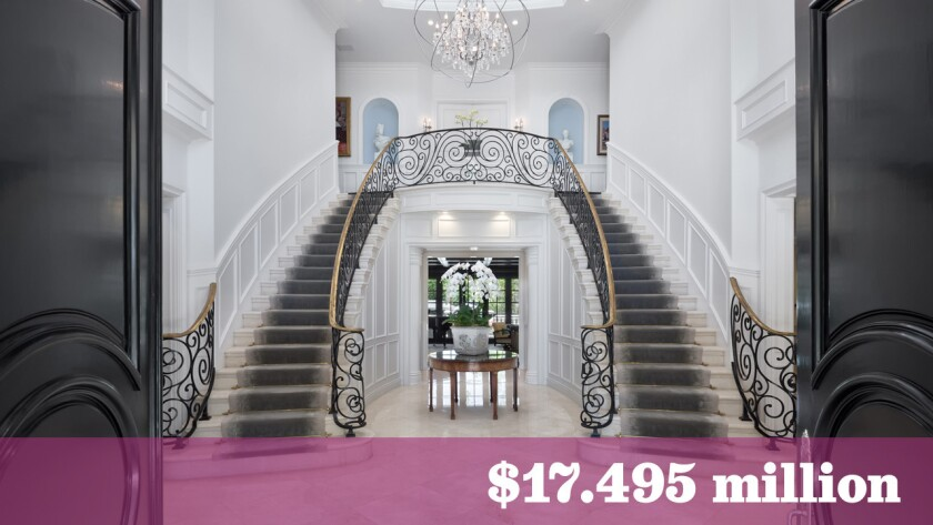 """Business mogul and """"Shark Tank Australia"""" personality Andrew Banks looks to turn a tidy profit on his Beverly Hills home, now listed for sale at $17.495 million."""