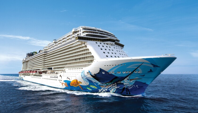 The Norwegian Escape.