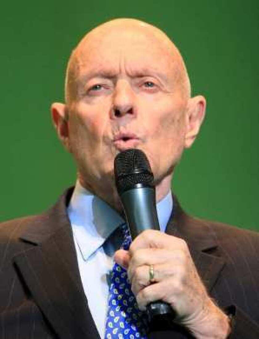 Stephen R. Covey dies at 79; wrote influential self-help bestseller