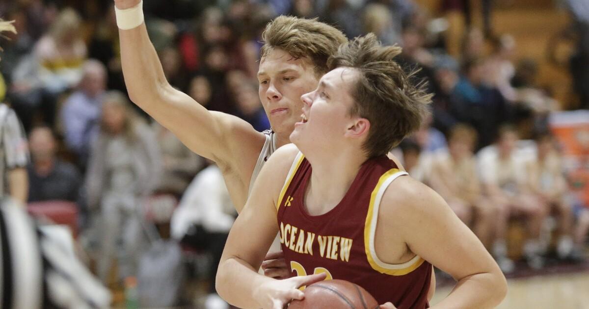 Ocean View's Slater Miller earns first-team All-Golden West League nod in boys' basketball