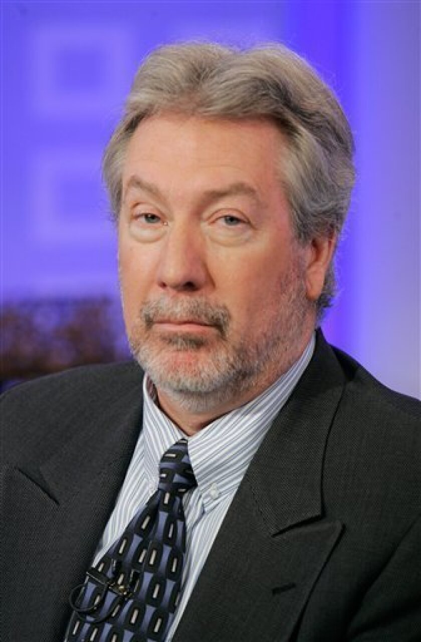 FILE - This Feb. 28, 2008 file photo shows Former Bollingbrook, Ill. police officer Drew Peterson in New York. A Will County judge is set to announce Wednesday June 2, 2010 his decision on whether or not he will delay the trial of the former Bolingbrook police officer charged with murder in his wife's 2004 death. Last week, attorneys for Drew Peterson asked White to delay the June 14 start of the trial. (AP Photo/Richard Drew, File)