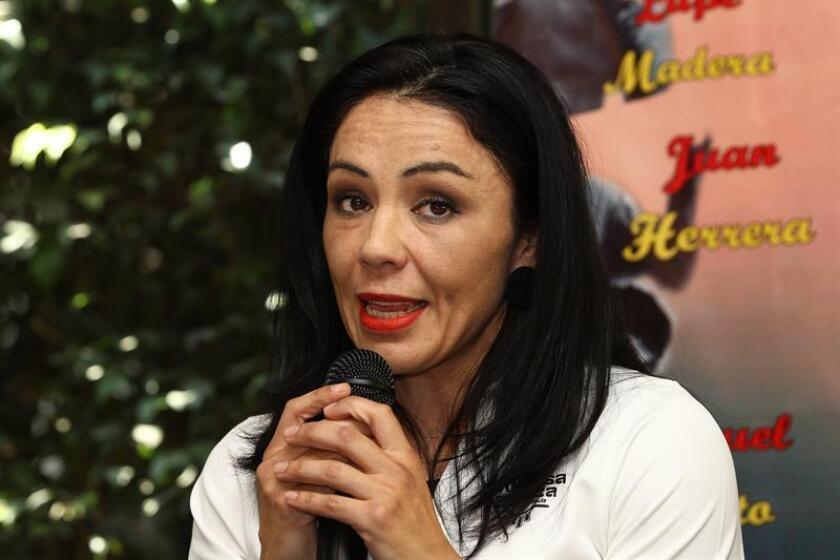 La boxeadora mexicana Jackie Nava. EFE/Archivo