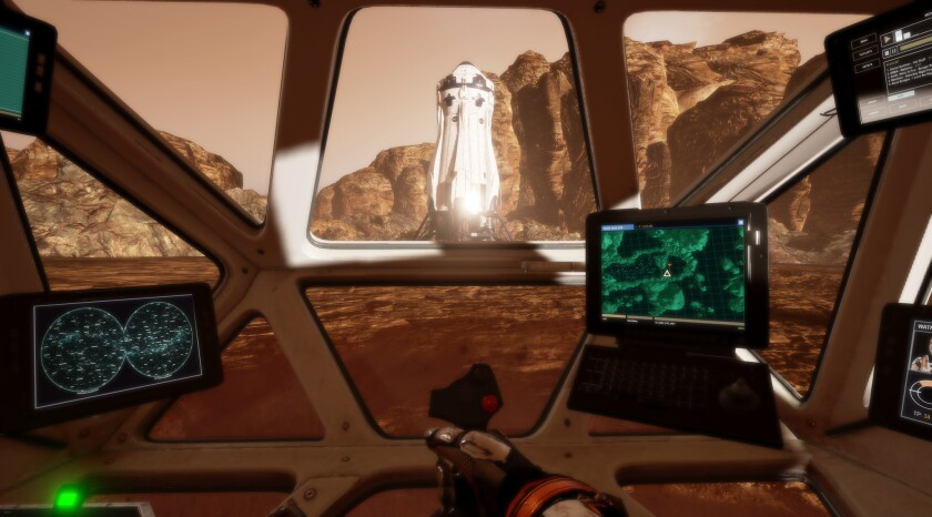 The Martian VR Experience.