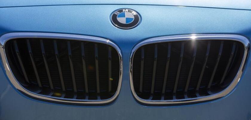 Vista de vehículos BMW. EFE/Archivo