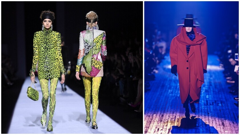 N Y Fashion Week Trend Takeaways If You Liked The 80s You Re Probably Going To Love Fall 2018 Los Angeles Times