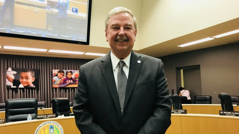 L.A. Unified Inspector General Ken Bramlett gets three more months on the job, with uncertain prospe