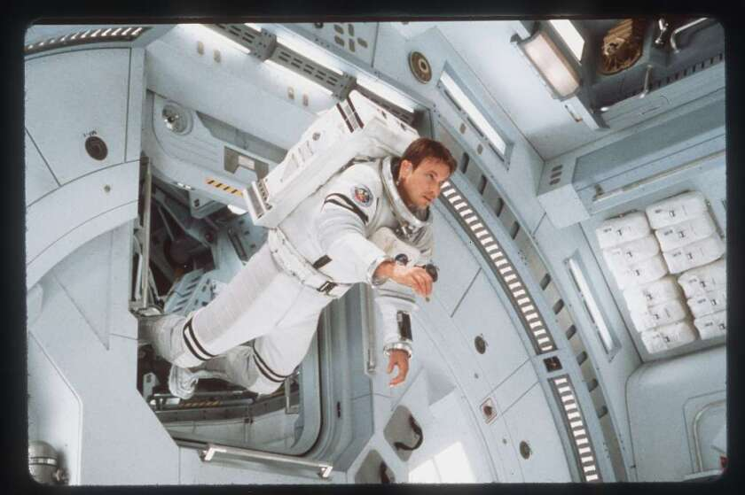 """Gary Sinise portrays an astronaut in the 2000 film """"Mission to Mars."""" In real life, astronauts would endure a lot more radiation on their way to and from the Red Planet than scientists had previously realized, according to a new study."""