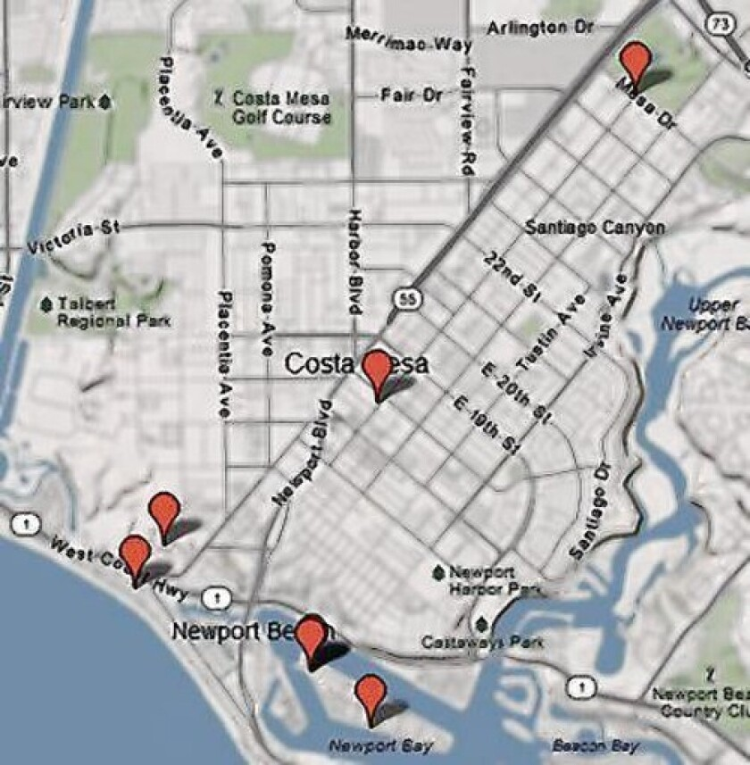 These eight locations were listed in cease and desist letters sent to Morningside Recovery on April 23 from the Department of Alcohol and Drug Programs.
