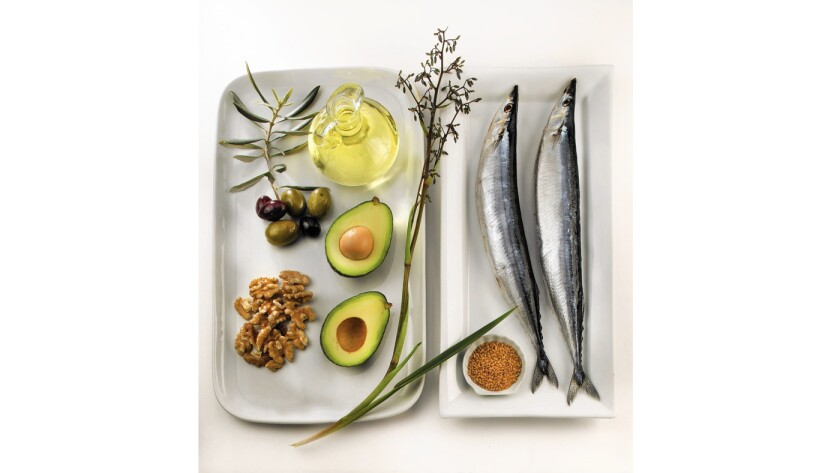 Oils from walnuts, avocados and fish are among the more healthful fats.